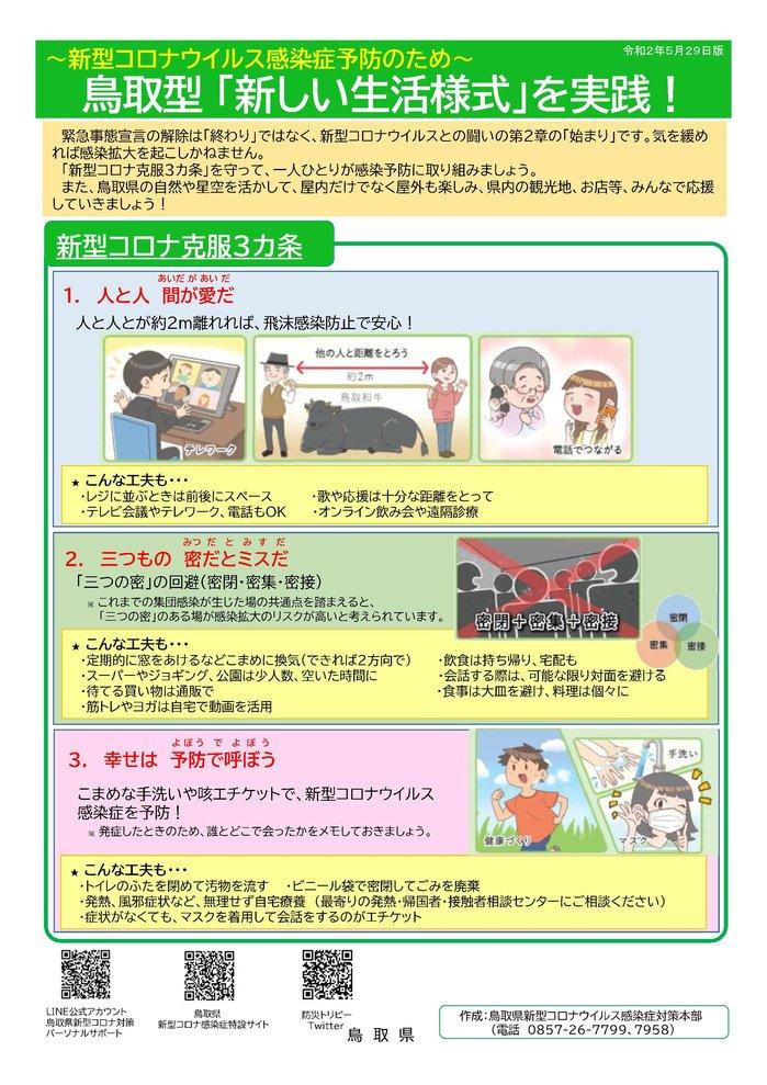 感染 コロナ ウイルス 鳥取 者 県